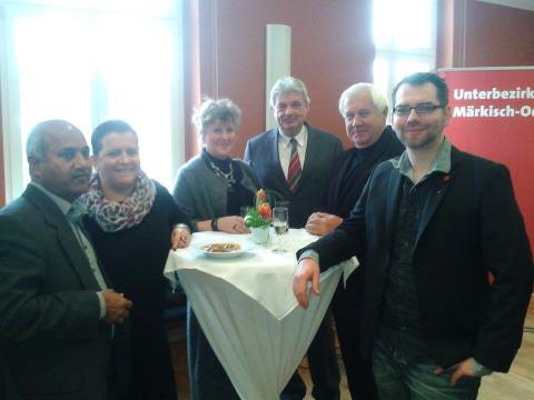 Neujahrsempfang der SPD Märkisch-Oderland in Altlandsberg